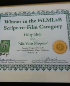 award for alis